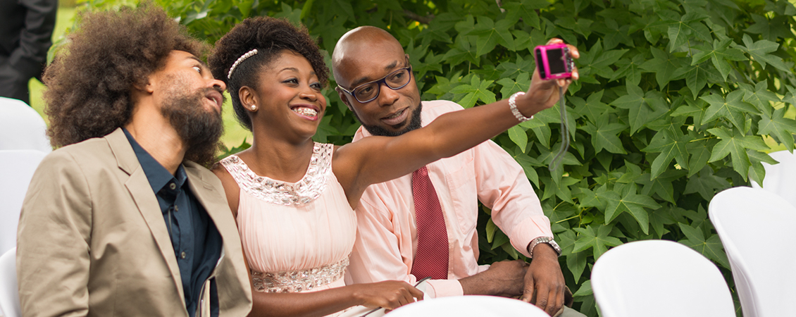 selfie boda